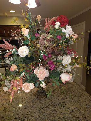 Huge flower arrangement