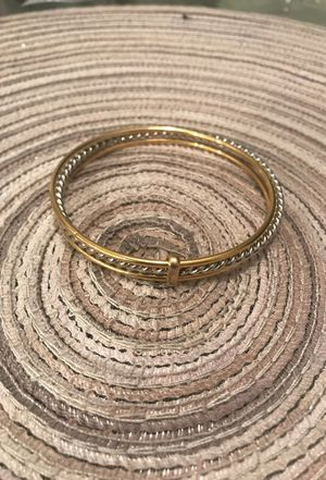 Gold & Silver colored band