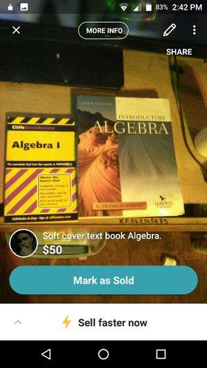 Algebra books and movies