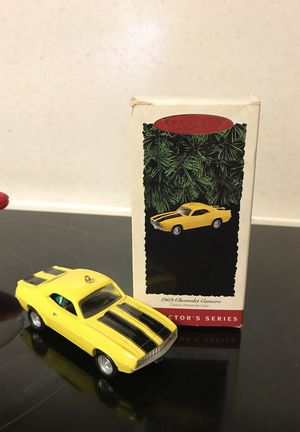 Hallmark Christmas Ornament 1969 Chevy Camarillo
