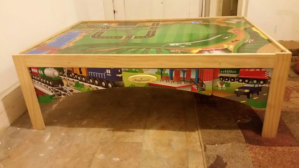 Imaginarium train table (Games & Toys) in Troy, NY