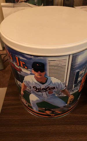 "Cal Ripken ""Cheese Curls"" Collectible Tin! Mint Condition, ....Cheese Curls long gone though..."