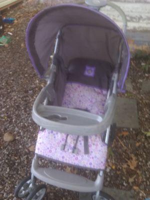 Carseat stroller combo purple