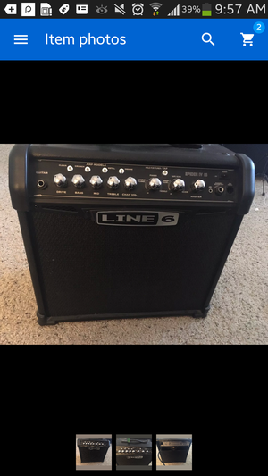 Line 6 iv spider 15 W guitar amp effects
