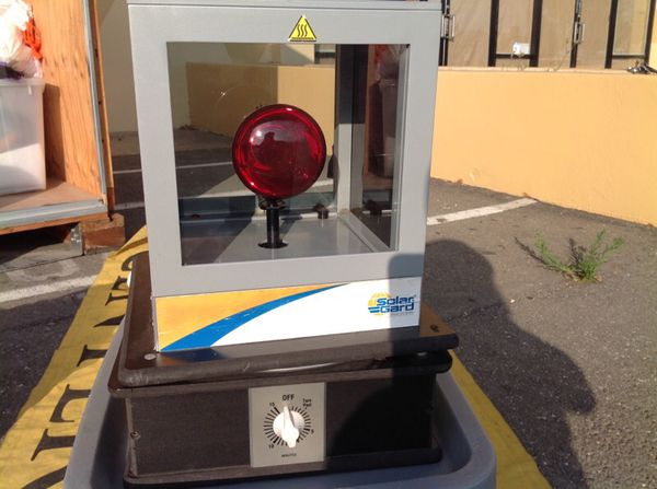 Heat lamp for window tinting from solargard for sale in good ...