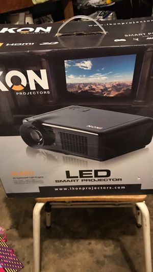 LED Smart projector and ikon screen