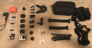 GoPro hero 3 and accessories