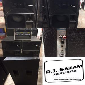 """pair of 1980's Community Light and Sound """"RS440"""" 4 way speakers $400 pair"""