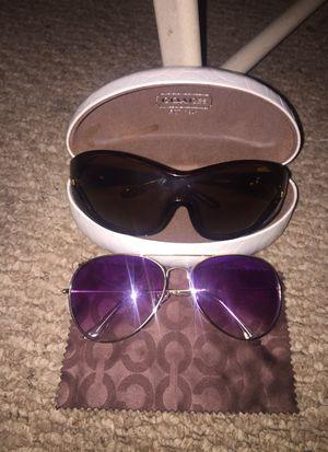 Top - Dyce Glasses/ Bottom - Coach Glasses