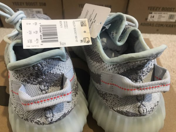 Adidas Yeezy Boost Kanye West 350 V2 Blue Tint Grey Three High