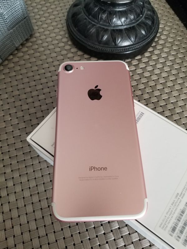 iphone 7 rose gold 128gb general in hayward ca offerup. Black Bedroom Furniture Sets. Home Design Ideas