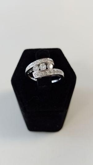14K Diamond Wedding Ring