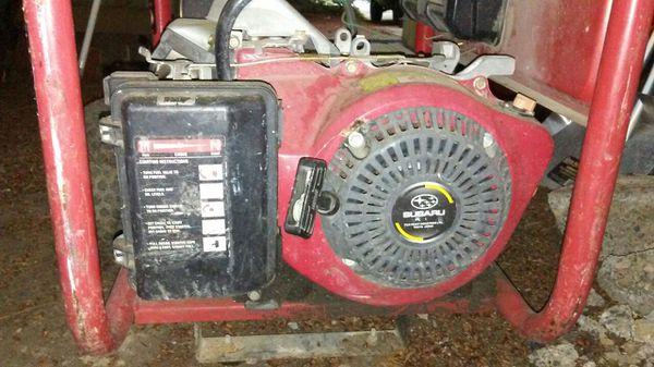 husky 5000 watt generator manual