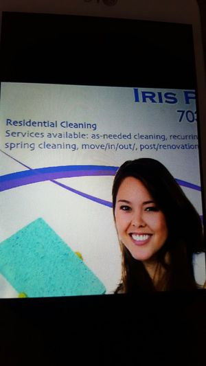 Organization and clean house,free stimated diferents area of DC,VA.send mesage free stimated.