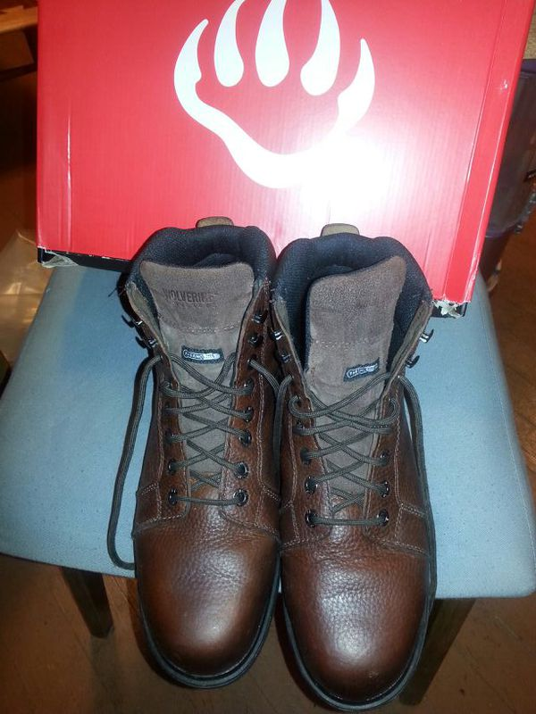 us 10m steel toe wolverine boots clothing shoes in
