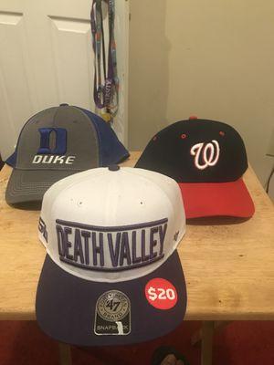 Three SnapBack hats