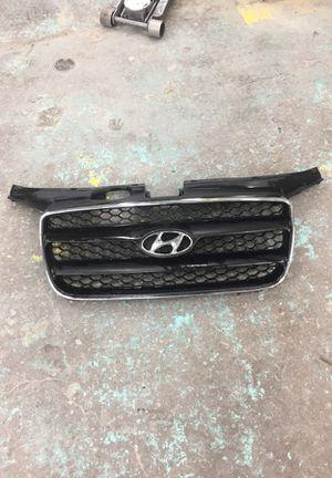 Hyundai Santa Fe 2007 grill