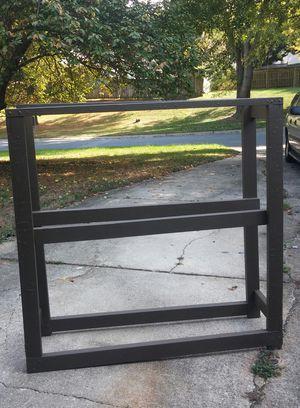 Outdoor Wooden Firewood Storage Rack