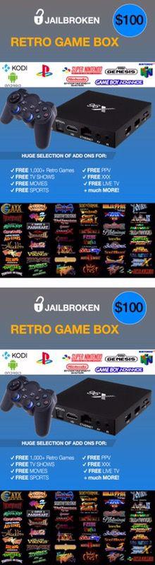 THE COMPLETE ANDROID BOX‼️ || RETRO GAME BOX PLAY 1,000's FREE Games 🕹|| Kodi 17.4, Mobdro & Show Box 📺 || Better than Amazon Fire Stick