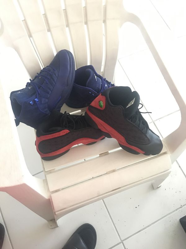 Retro 12 and retro 13 size 11 1/2
