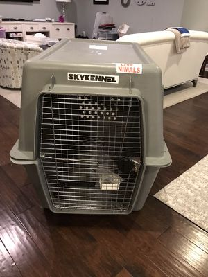 Dog Kennel for Air Transport-FAA approved; fits golden retriever