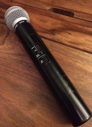 SHURE SM58 SC2-TB Wireless Transmitter Handheld Microphone