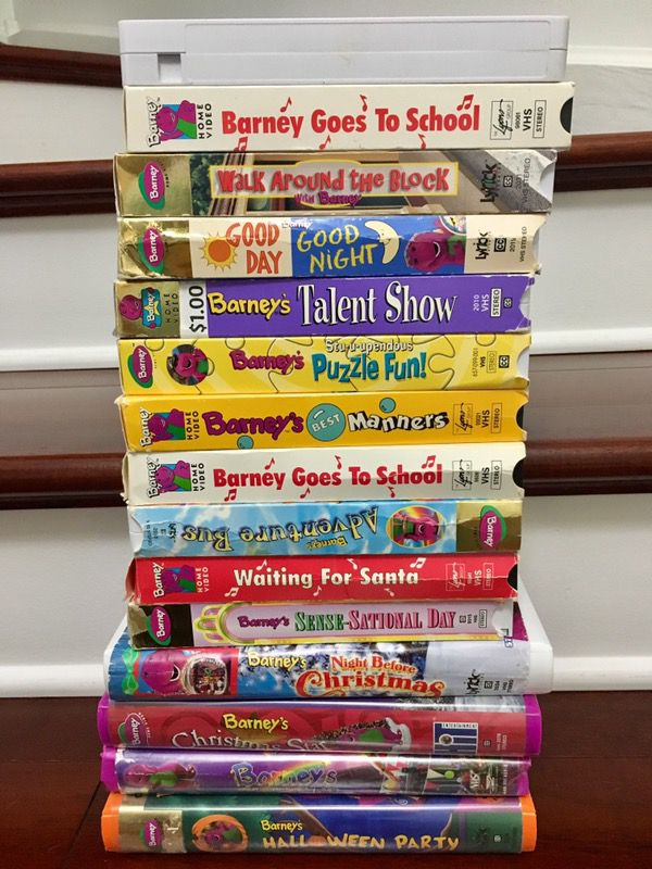 15 Vhs Barney Movies Home Amp Garden In Naperville Il