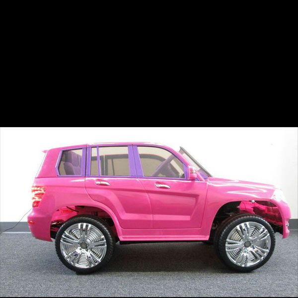 Mercedes Benz Pink Color GLK 300 SUV Electric Ride On Toy