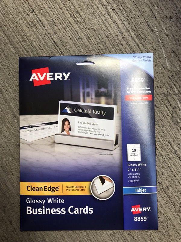 Avery Glossy business card (Business Equipment) in Honolulu, HI ...