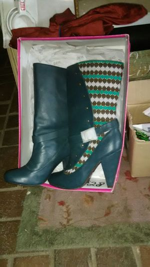 Pink Deborah boots