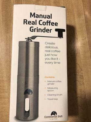 Brand new Manual Coffee Grinder - Ceramic Burr for Precise Grind