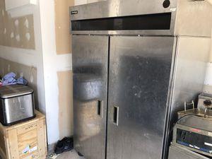 Restaurant Equipment, griddle, fryer, cooler