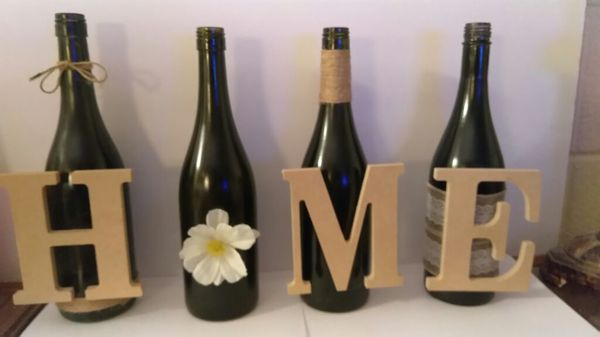 Decorative Wine Bottles Extraordinary Decorative Wine Bottles Setgeneral In Jacksonville Fl  Offerup Review