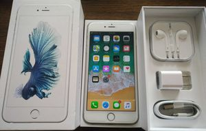 Silver Iphone 6S Plus {64GB} UNLOCKED {like NEW}