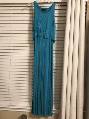XS Teal maxi dress