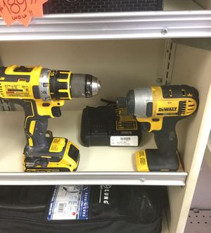 Dewalt 20v Lithium Impact Drill Set