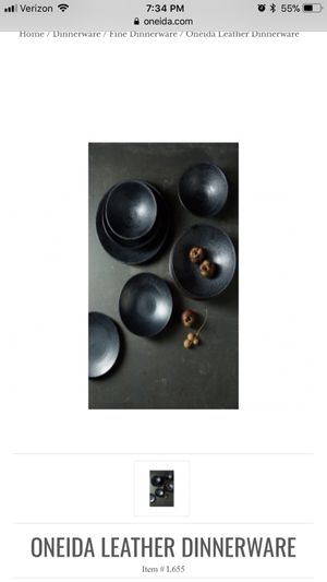 New Oneida small plate and bowl -set of 6
