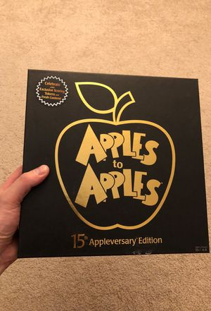 Apples to Apples game 15th Anniversary Edition