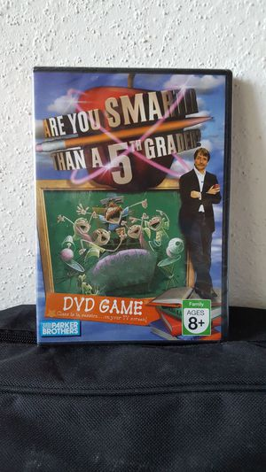 Are You Smarter Than A Fifth Grader DVD Game
