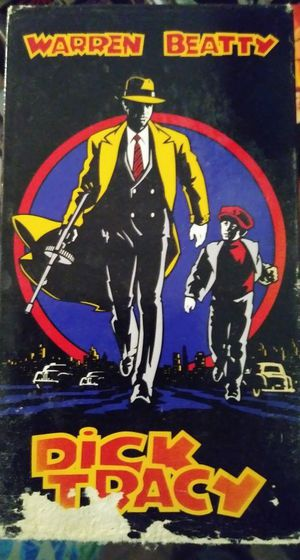 """Dick Tracy """"VCR/VHS Movie"""""""