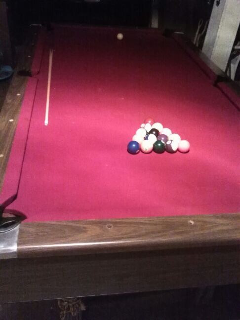 Pool table 1 piece slate sports outdoors in seattle for 1 piece slate pool table
