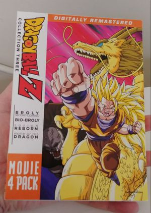 Dragon ball Z Movie Pack