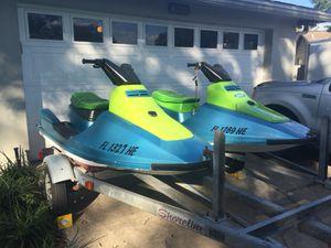 Twin 1990 Kawasaki jet skis