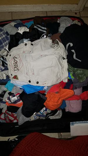 All baby clothes in good condition no holes no tears from 1to 3 years of age