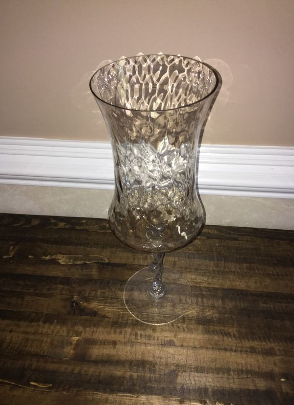Large Glass Hurricane Vase Household In Archdale Nc