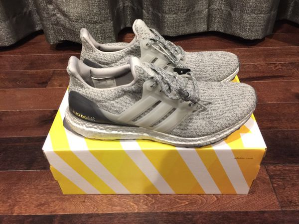 Adidas Ultra Boost 3.0 Triple Black Silver Gray Primeknit Mens