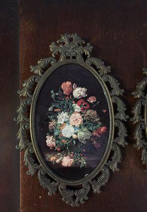 Italian flower frames