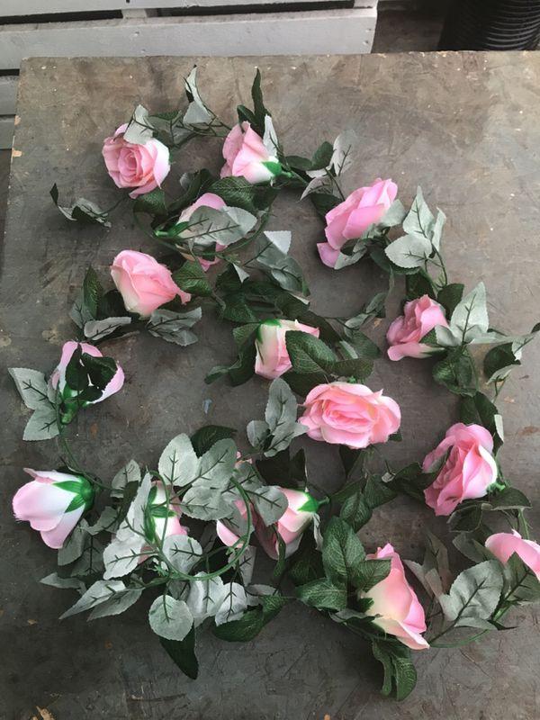 Silk flower garlands pinkblush 7 vines arts crafts in silk flower garlands pinkblush 7 vines arts crafts in phoenix az mightylinksfo
