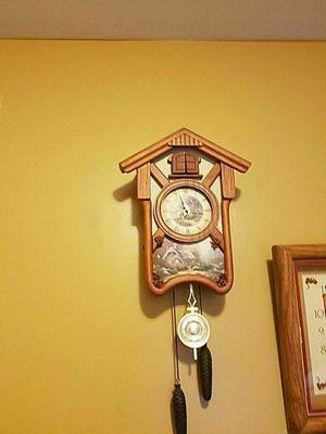 Cuckoo clock with pendulum