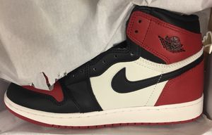 Bred Toe 1s SIZE 6 $175